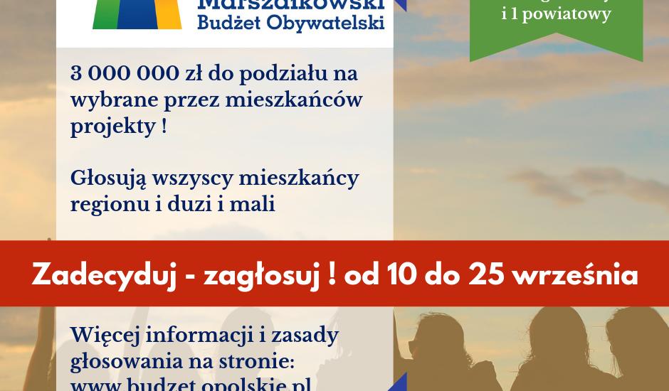Do pobrania KARTY DO GŁOSOWANIA w ramach 3 edycji MBO !!!