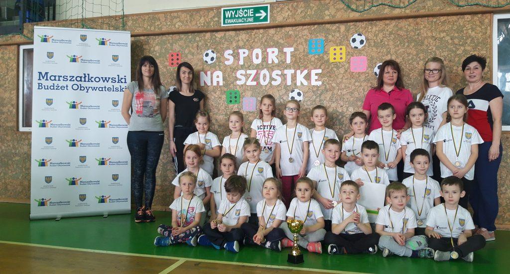 Sport na szóstkę…, czyli Halowa Spartakiada Sportowa Przedszkolaków